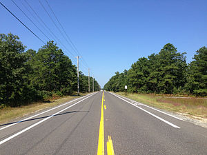 County Route 532 (New Jersey) - CR 532 through Wharton State Forest within the Pine Barrens