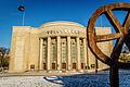 20140125 Volksbühne Berlin mit laufendem Rad IMG 4110 by sebaso.jpg
