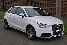 2014 Audi A1 (8X MY14) 1.4 TFSI Attraction Sportback 5-door hatchback (2015-07-09) 01.jpg