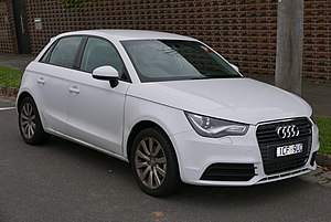 Audi A1 - Image: 2014 Audi A1 (8X MY14) 1.4 TFSI Attraction Sportback 5 door hatchback (2015 07 09) 01