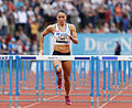 2014 DécaNation - 100 m hurdles 04.jpg
