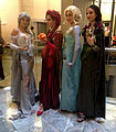 2014 Dragon Con Cosplay - Elsas of the Elements 3 (15123835695).jpg