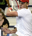 2014 US Open (Tennis) - Qualifying Rounds - Andreas Beck (14871234850).jpg