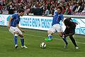 20150616 - Portugal - Italie - Genève - Mattia De Sciglio, Andrea Ranocchia et Eder.jpg