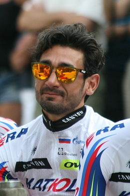 2015 Tour de France team presentation, Giampaolo Caruso.jpg