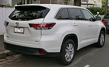 toyota highlander wikipedia. Black Bedroom Furniture Sets. Home Design Ideas