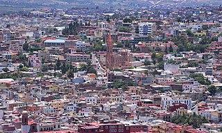 Zacatecas City City in Zacatecas, Mexico