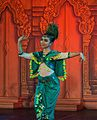 2016 Phnom Penh, Tradycyjny Kambodżański Pokaz Tańca (150).jpg