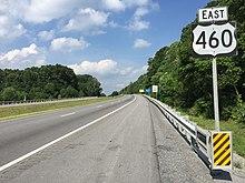 U.S. Route 460 - Wikipedia
