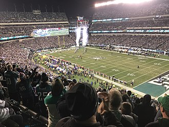 2017–18 NFL playoffs - Lincoln Financial Field during the NFC championship game.