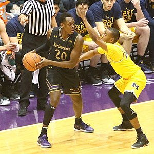 2016–17 Northwestern Wildcats men's basketball team - Scottie Lindsey, 3rd team/hon. mention