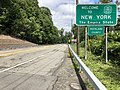 2018-07-22 11 59 06 View north along U.S. Route 9W entering Orangetown, Rockland County, New York from Alpine, Bergen County, New Jersey.jpg