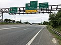 2019-05-22 13 28 54 View west along Interstate 595 and U.S. Route 50 and south along U.S. Route 301 and Maryland State Route 2 (John Hanson Highway) at Exit 23A (Maryland Route 2 SOUTH, Parole, Prince Frederick) in Parole, Maryland.jpg
