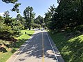 2019-08-08 16 24 09 View south along U.S. Route 29 Business (Emmet Street) from the overpass for McCormick Road within the University of Virginia in Albemarle County, Virginia.jpg