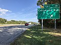 2019-09-23 15 24 40 View east along Maryland State Route 100 (Paul T. Pitcher Memorial Highway) at Exit 19 (Catherine Avenue) in Pasadena, Anne Arundel County, Maryland.jpg