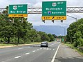 2020-06-20 16 15 04 View south along Maryland State Route 70 (Rowe Boulevard) at the exit for U.S. Route 50 WEST (Washington, TO Interstate 97, Baltimore) in Parole, Anne Arundel County, Maryland.jpg