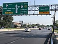2020-09-08 16 04 37 View south along New Jersey State Route 17 at the exit for Ikea Drive in Paramus, Bergen County, New Jersey.jpg