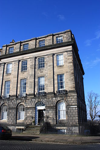 John Hope, Lord Hope - Lord Hope's magnificent townhouse at 20 Moray Place, Edinburgh