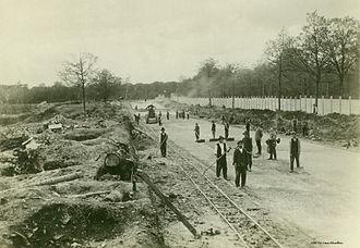Autodrome de Linas-Montlhéry - L'autodrome de Linas-Montlhéry year 1923