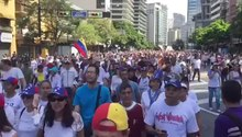 File:23 Jan 2019 venezuela protest march vid.webm