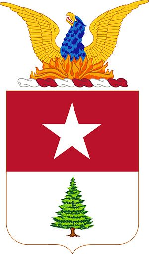 8th Coast Artillery (United States) - Coat of arms