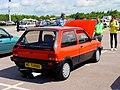 294 - 1983-1985 red MG Metro Turbo, rear.jpg