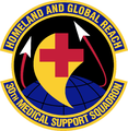 30 Medical Support Sq emblem.png