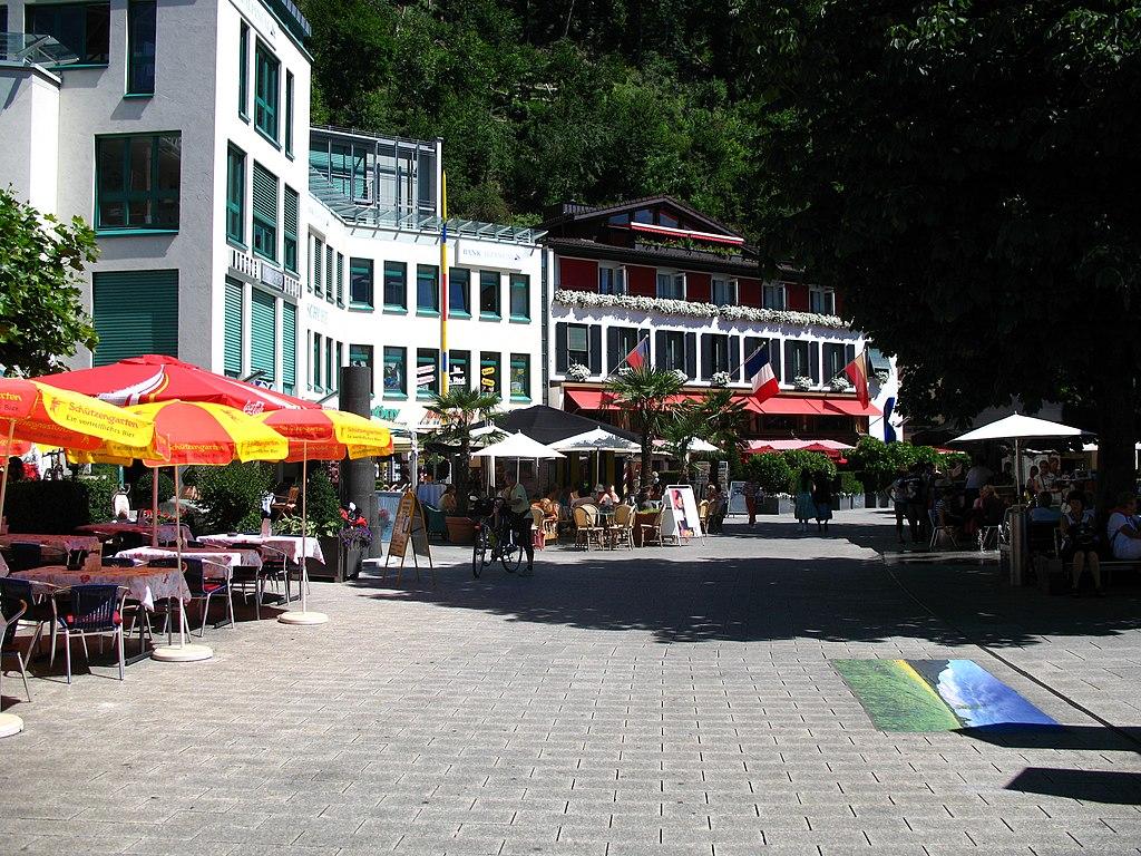 Centar glavnog grada Vaduca