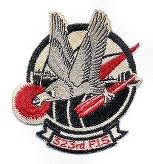 323d Fighter-Interceptor Squadron - Image: 323d Fighter Interceptor Squadron Emblem