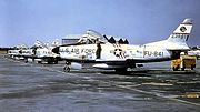 324th Fighter-Interceptor Squadron - North American F-86D-40-NA Sabre - 52-3841
