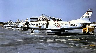 4707th Air Defense Wing - F-86Ds of the wing's 324th FIS