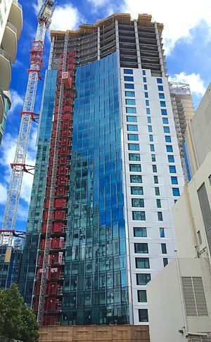 340 Fremont Street - Image: 340 Fremont Street, San Francisco, Under Construction August 2015, West View