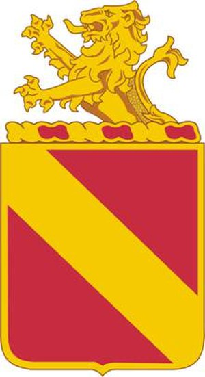35th Field Artillery Regiment - Image: 35 FA Rgt DUI