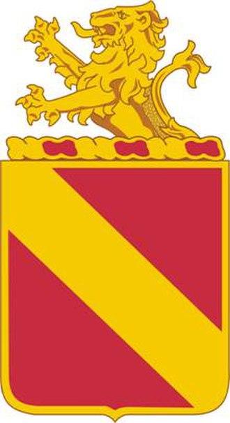 35th Field Artillery Regiment - Image: 35 FA Rgt DUI