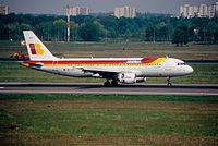 EC-IZH - A320 - Iberia
