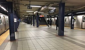 42nd Street - Port Authority Bus Terminal - Downtown Platform.jpg