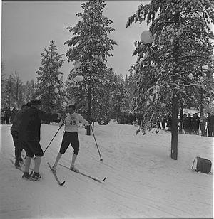 FIS Nordic World Ski Championships 1966 - Gjermund Eggen during the championships