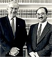 57 Received By the Governor-General of the Commonwealth of Australia H.E. Bill Hayden on 29.5.1990.jpg