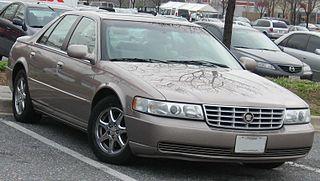 Cadillac Seville American mid-size luxury sedan