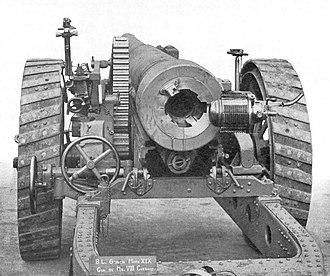 BL 6-inch gun Mk XIX - Image: 6 inch Mark XIX gun rear