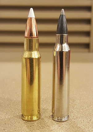6.8mm Remington SPC - Image: 6.8 SPC + 223