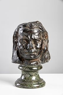 <i>Mask of a Weeping Woman</i>