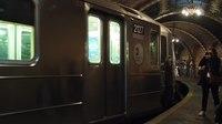 File:6 Train pulling through City Hall station (32281).webm