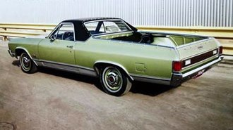 GMC Sprint / Caballero - 1971 GMC Sprint