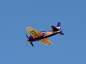 77 F8F-2 Bearcat (N-777L) Rare Bear 2014 Reno Air Races Gold Final by D Ramey Logan.jpg
