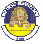 786 Communications Sq emblem.png