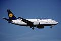 94au - Lufthansa Boeing 737-530; D-ABIE@ZRH;16.05.2000 (5326768767).jpg