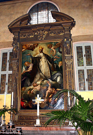 Sant'Angelo (Milan) - Glory of St. Charles Borromeo, by Morazzone.