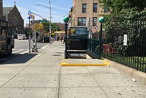 Bay Ridge–95th Street (BMT Fourth Avenue Line) - Entrance at 95th Street and 4th Avenue