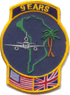 9th Air Refueling Squadron - 9 EARS OEF, OIF unit patch